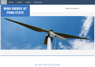 Wind Energy at Penn State