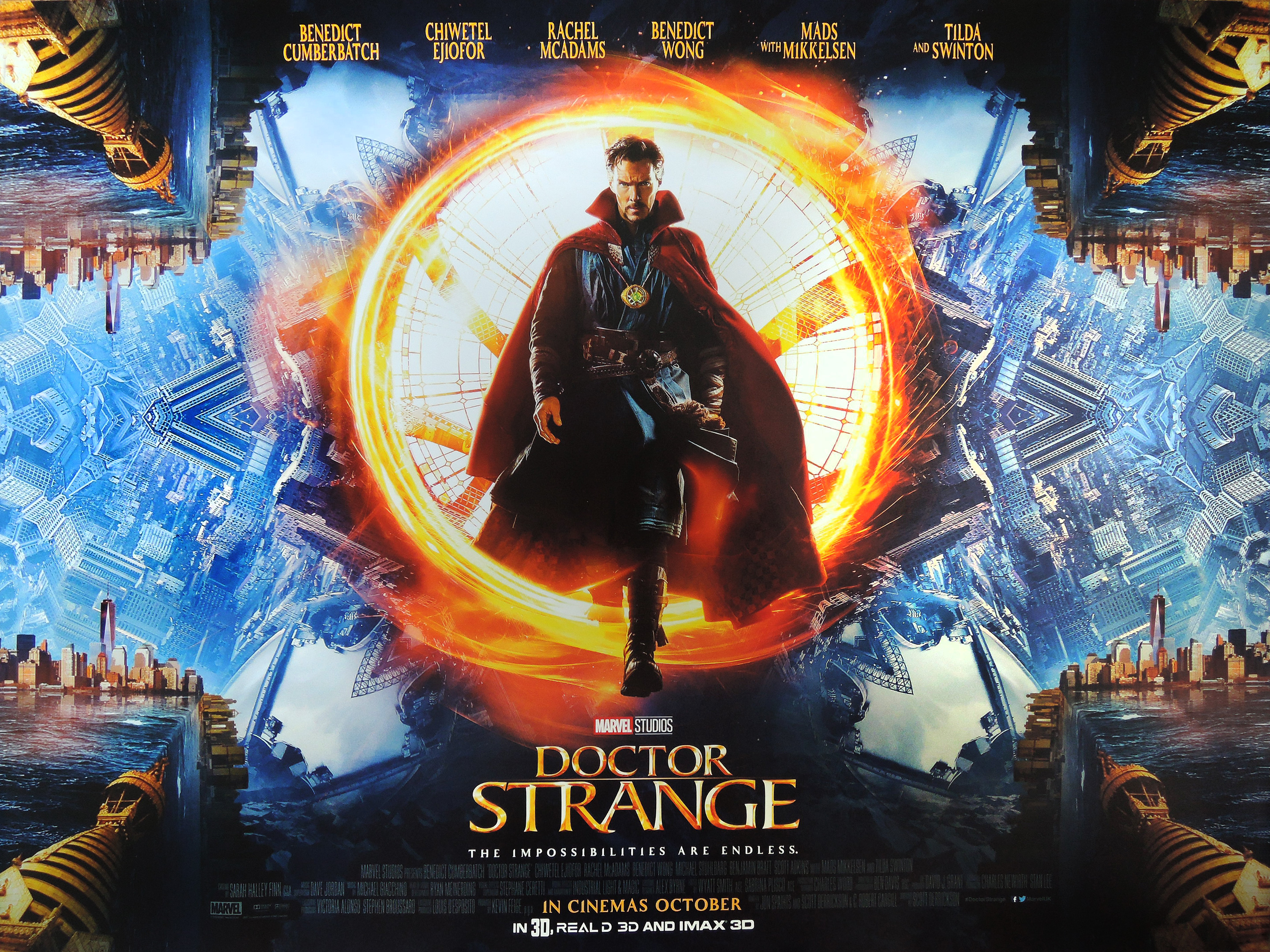 Doctor Strange 2016 The Blockbusters The Cults And The Classics