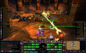 world of warcraft user interface