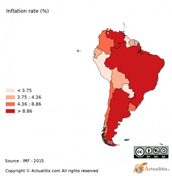 south-america-map-inflation-rate
