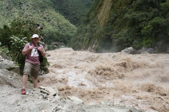 Urubamba River aiding in natural resources of Peru