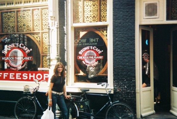 Hanging out in Amsterdam