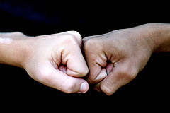 interracial fists