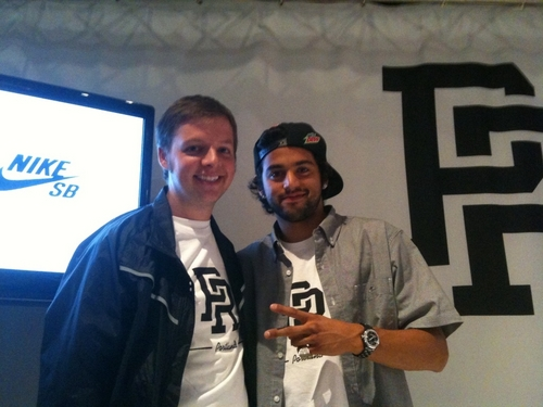 Me with Paul Rodriguez