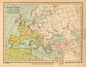 The-Roman-Empire-Eastern-and-Western-in-the-4th-Century