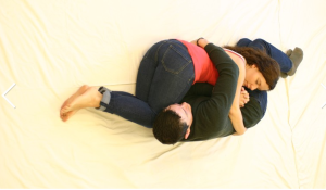 One of many platonic cuddle positions