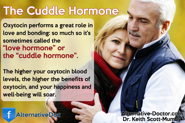 "Oxytocin is also known as the ""Cuddle Hormone"""