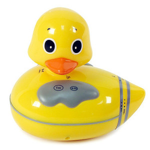 A cute shower radio available at Bed, Bath & Beyond.