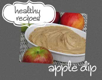 apples with dip