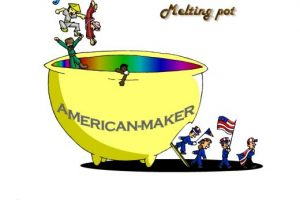 Melting pot metaphor explained