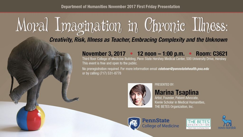 Moral Imagination in Chronic Illness: Creativity, Risk, Illness as teacher, Embracing Complexity and the Unknown