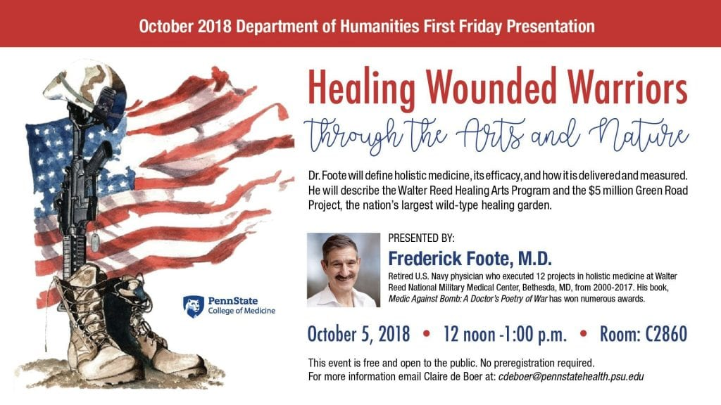 Healing Wounded Warriors through the Arts and Nature