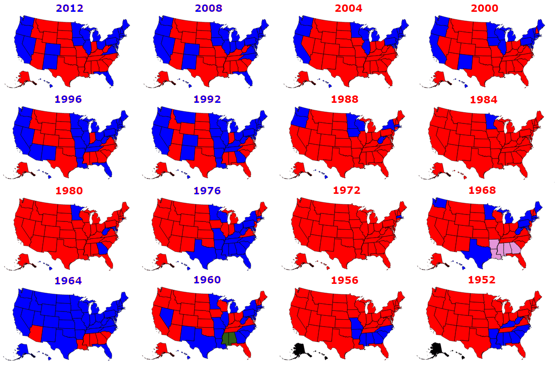 The Flaw With The Electoral College In The United States Civic - Us map electoral college