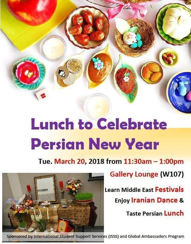 Lunch to Celebrate Persian New Year | International Stories of Penn ...