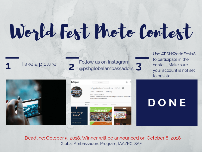 World Fest Pre-Event Write Up | International Stories of Penn State