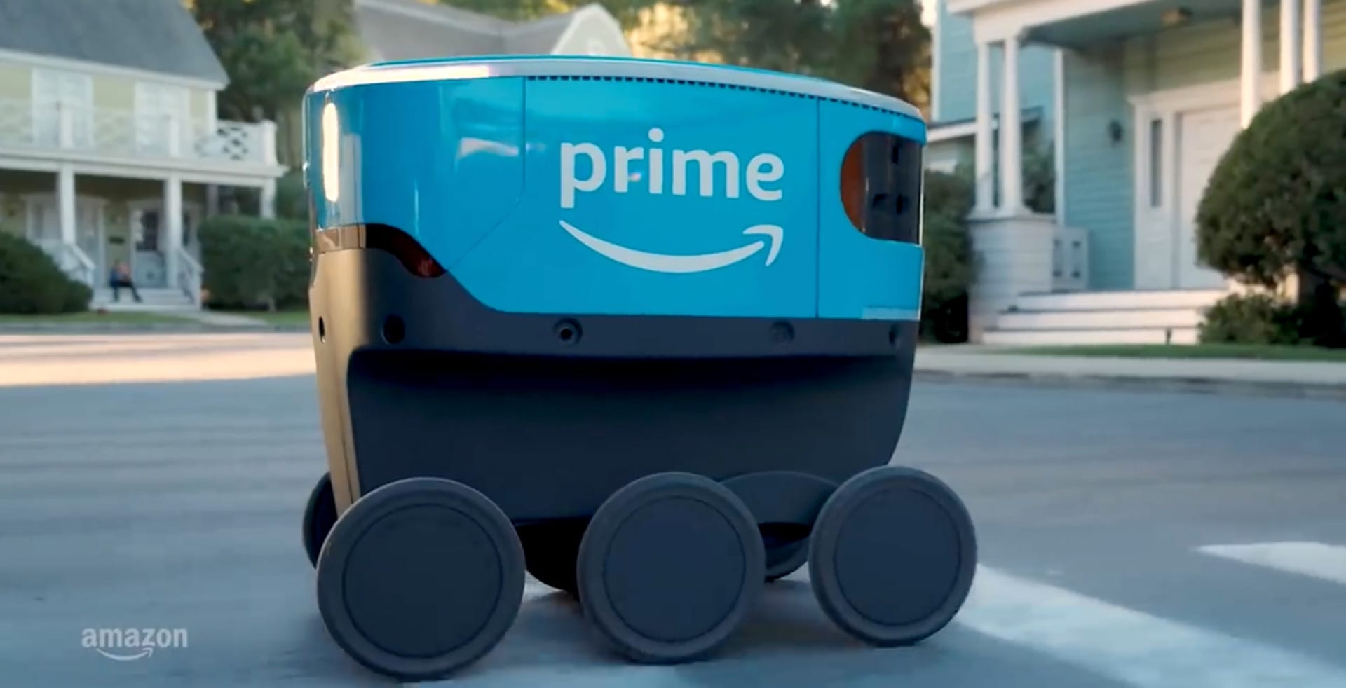 Meet Amazon Scout- package delivering robot | IST 110: Introduction