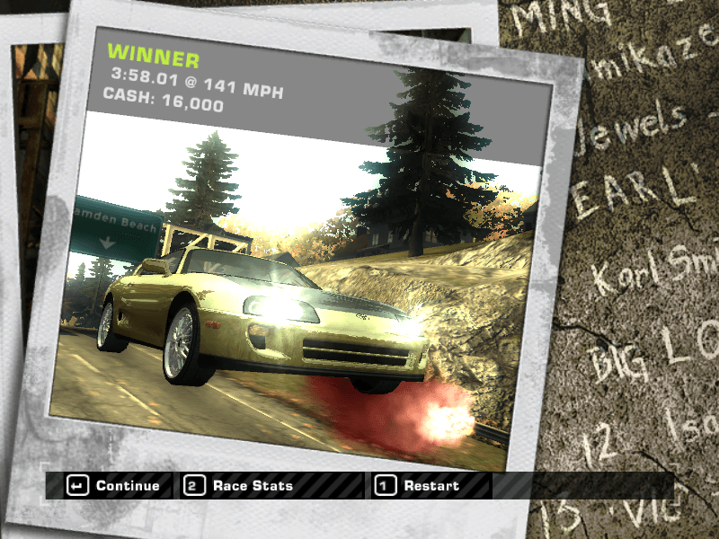 Need for Speed: Most Wanted (2005, 2012, …2019 trailer)