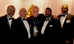 Jerry Zolten (center) with the Fairfield Four