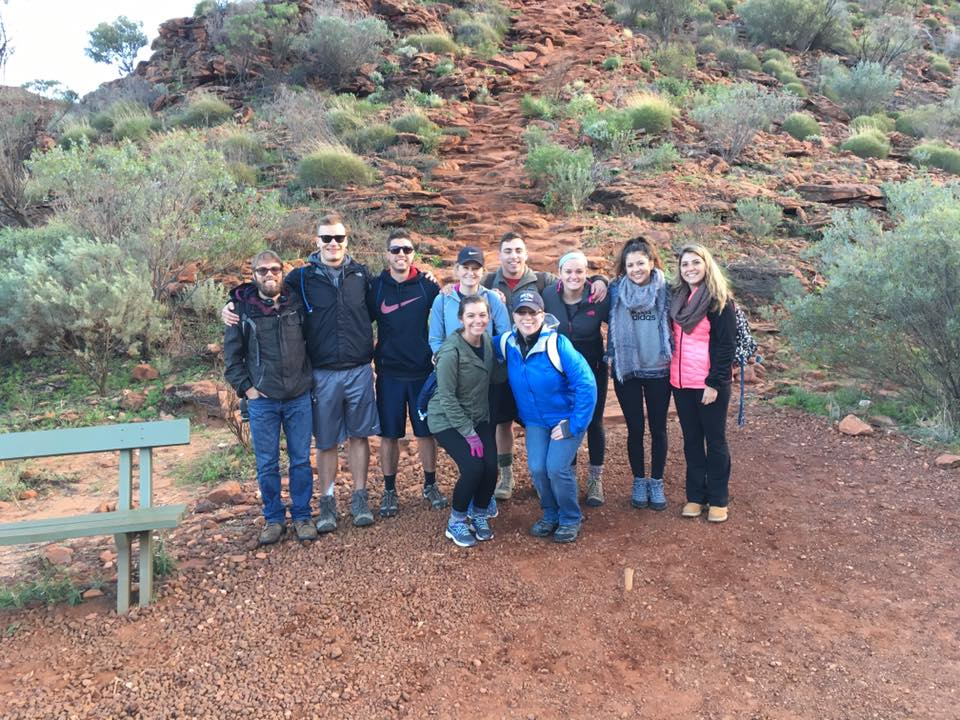 Students were able to explore and hike the rugged landscapes in Australia's Northern Territory