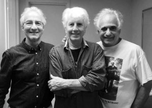Frank Christopher, Graham Nash, and Jerrzy Zolten