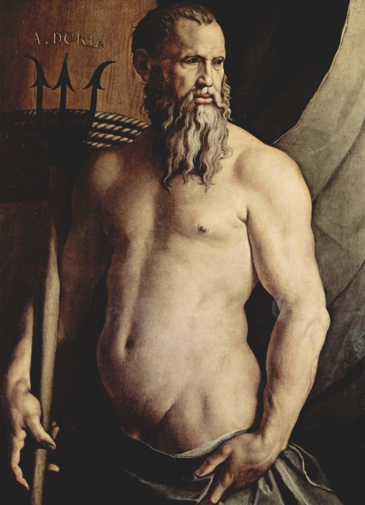 My Ego Ideal: Andrea Doria as Neptune, Bronzino