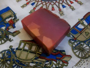 Mr. Punch soap from Italy (sample size!)