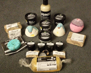 All of my goodies!
