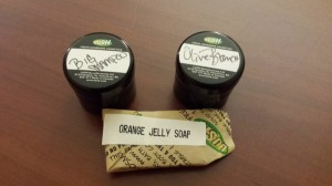 My free samples of the first day.