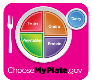 2015 MyPlate daily eating guide
