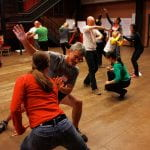 Image of a Dance Group Session