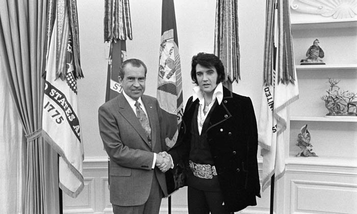 That Time Elvis Presley Visited President Nixon