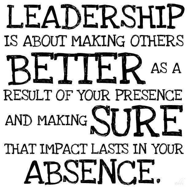 definition of a true leader