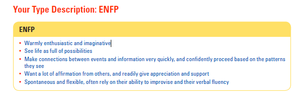 Myers-Briggs Type Indicator Helps to Gain Insight into Self