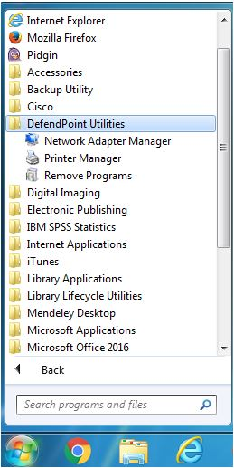 screen shot of folder hierarchy for a Windows operating system