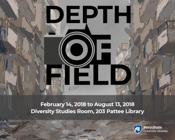 Depth of Field exhibit poster