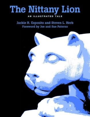 """The Nittany Lion"" book cover"