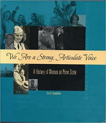 """We Are a Strong, Articulate Voice"" book cover"