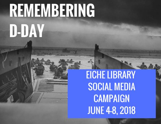 Eiche Library D-Day announcement