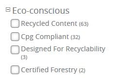 screenshot-sustainable purchases blog post