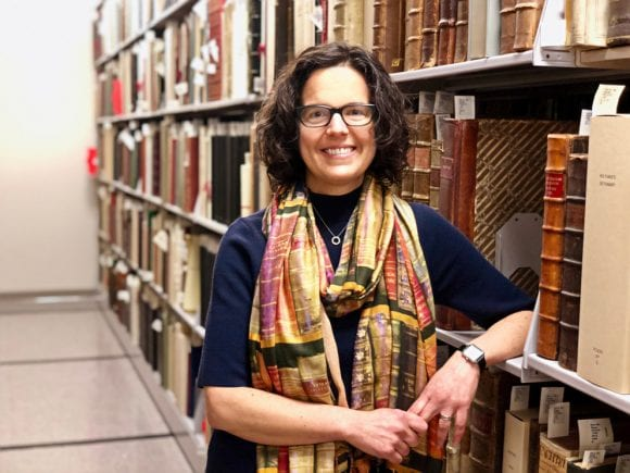 Jennifer Meehan, Head of the Eberly Family Special Collections Library