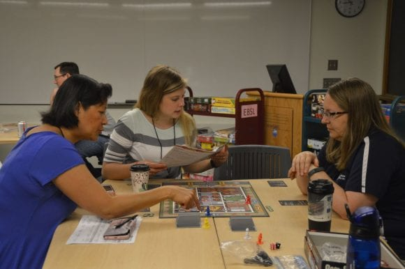 Discovery Day 2018 photo: Board games