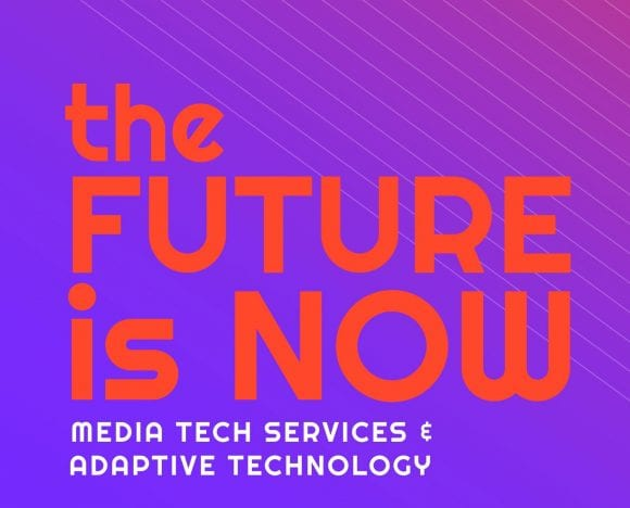 The Future is Now, exhibit graphic
