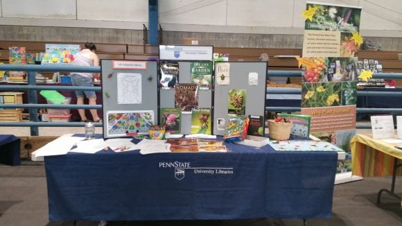 Great Insect Fair, Libraries booth