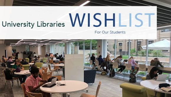Libraries' Development Wishlist graphic