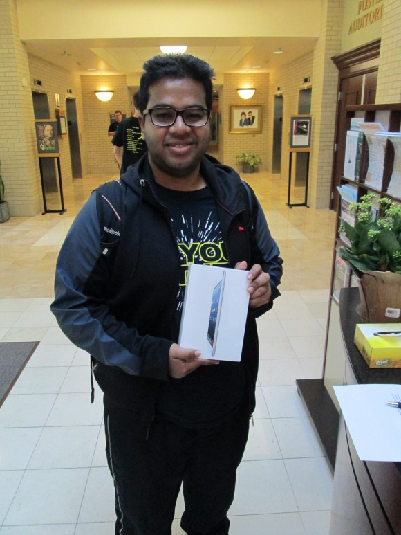 Shantanu Gupta - iPad mini