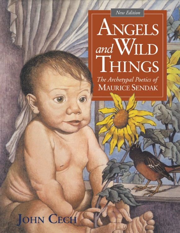 book cover featuring maurice sendak drawing