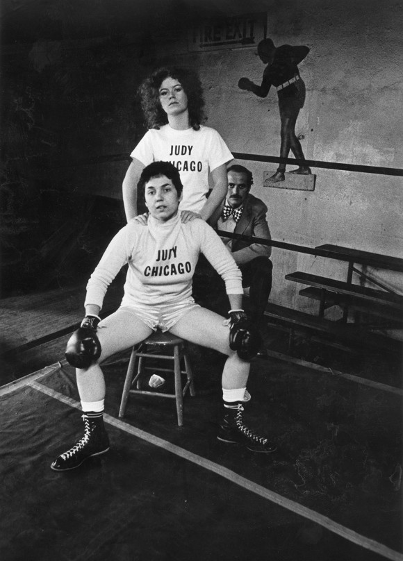 Judy Chicago boxingPR