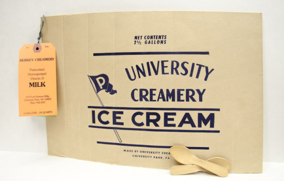 Creamery-sign-with-wooden-spoons