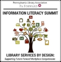 PA Forward Information Literacy Summit logo for 2016 event