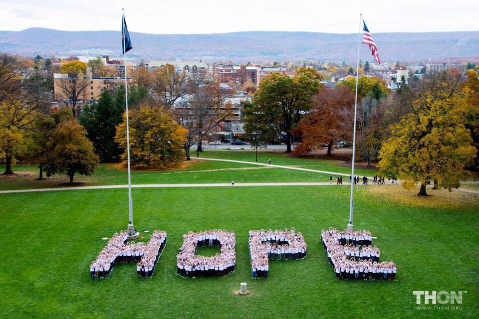 The Road to THON: 100 Days